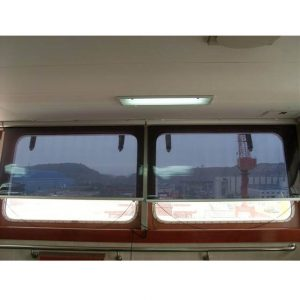 marine ship boat yacht bridge automated anti glare roller screen window blinds sunscreen