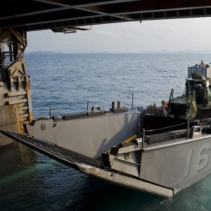 TUF landing craft produced for navy