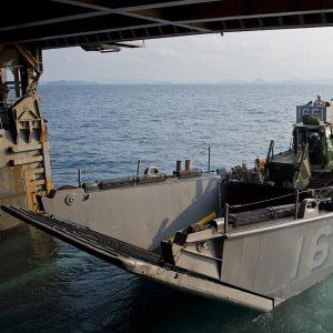 Aluminum Landing Craft Vehicle Personnel LCVP