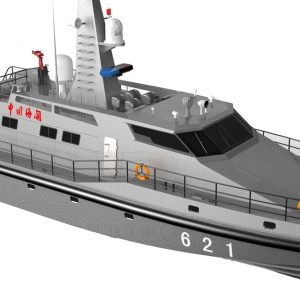 High Speed Military Police Border Protection Patrol Boat