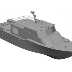 high speed work boat produced by TUF