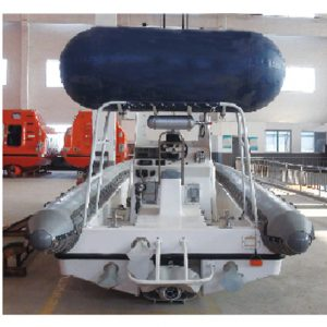 tuf rhib boat for patrol and rescue
