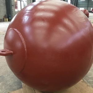 TUF high quality Spherical  steel mooring buoy
