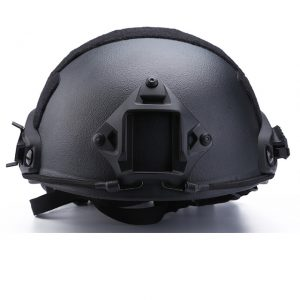 TUF bullet proof helmet is made of kelvar or PE