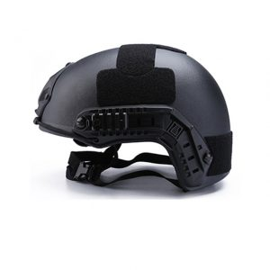 TUF bulletproof helmet is made of kelvar or PE
