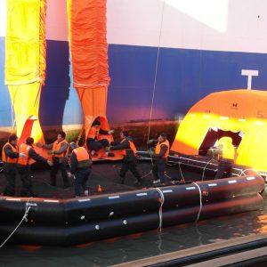 SOLAS RMRS MED Slide Chute Marine Evacuation System MES