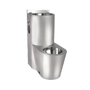 TUF Vandal Resistant Wash down Stainless Steel Prison Toilet Jail Toilet and Sink