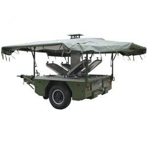 TUF produces army millitary mobile kitchen trailer