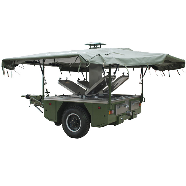 Military army field mobile kitchen trailer | TUF