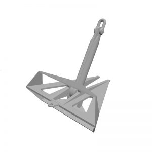 Marine Delta Flipper Anchor