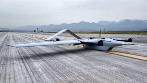 PP-10V Electric vertical take-off and landing fixed-wing UAV
